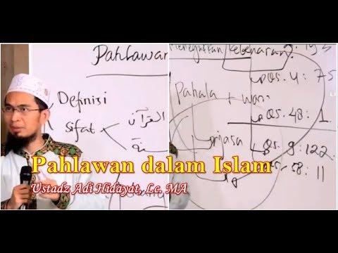 Pahlawan Dalam Islam Ustadz Adi Hidayat, Lc. MA | Pahlawan Kemerdekaan ust Adi Hidayat