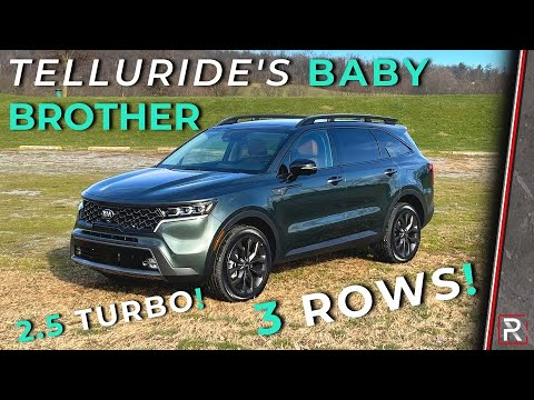 """The 2021 Kia Sorento X-Line Offers Rugged """"Telluride"""" Style With Turbo and Electrified Powertrains"""