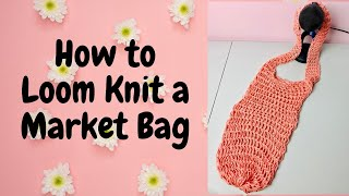 Loom Knit Market Bag