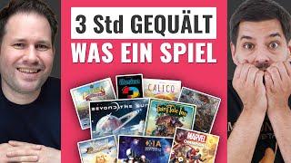 Kurz-Fazit: Marvel Champions, Beyond the Sun, Xia, Calico, Ethnos, Fairy Tale Inn...