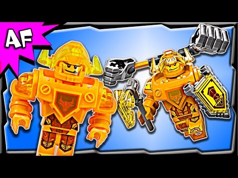 Vidéo LEGO Nexo Knights 70336 : Axl l'Ultime chevalier