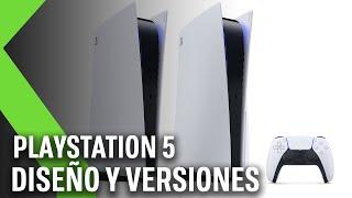 PLAYSTATION 5: diseño y versiones de la NUEVA CONSOLA de SONY