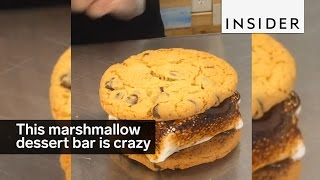 This Dessert Bar Is Marshmallow Heaven