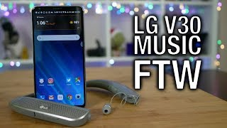 LG V30: Best Headphone Audio, Hands Down!