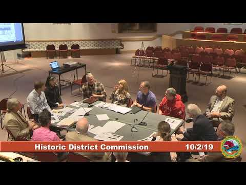 Historic District Commission 10.2.19