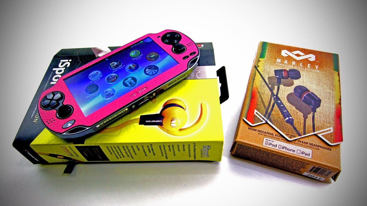 In Review: Marley Zion - Pink PS Vita, Monster iSport Immersion Headphones + More! thumbnail