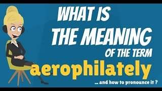 What is AEROPHILATELY? What does AEROPHILATELY mean? AEROPHILATELY meaning & explanation
