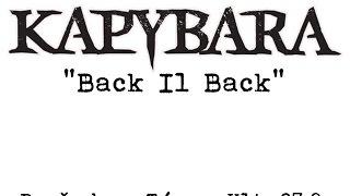 Video Kapybara - Back ll Back, 27.9.2016 Týn nad Vltavou, Pančabar