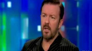 "Ricky Gervais on CNN: ""Atheism: Why jokes about God shouldn't offend believers"""