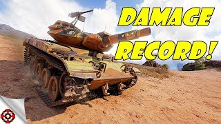 Gambar cover World of Tanks - T49 DAMAGE RECORD! (WoT T49 gameplay)