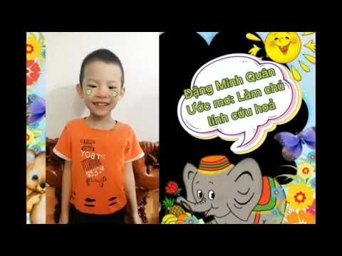 video giới thiệu cô và các bé lớp 5 tuổi A2