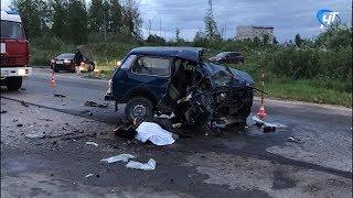 Предположительно нетрезвый полицейский стал виновником смертельной аварии в Великом Новгороде