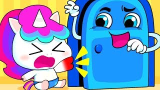 大変!ドア怪物を追いだせ! | 子供向け安全教育 | 赤ちゃんが喜ぶ歌 | 子供の歌 | 童謡 | アニメ | 動画 | ベビーバス| BabyBus