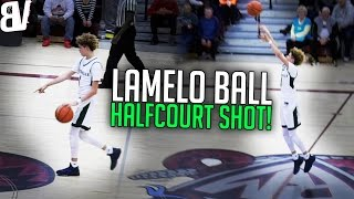 LaMelo Ball Halfcourt Shot MID-GAME! Points & Hits it! | Limitless Range Badge HOF