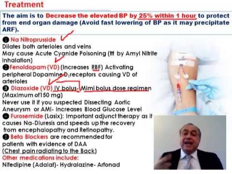 IRR hypertensive Art der Behandlung