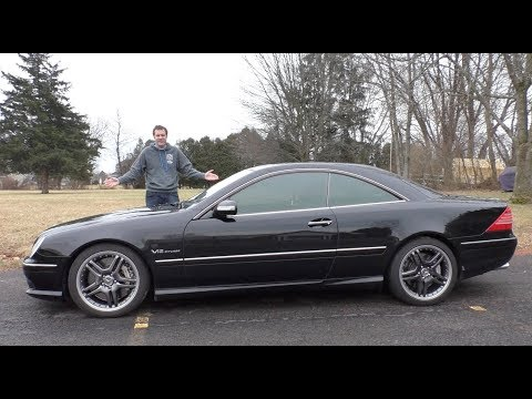 This V12 Mercedes CL65 AMG Is an Insane $30000 Used Car
