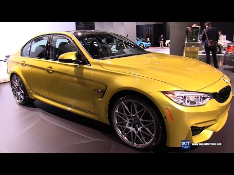 2017 BMW M3 Sedan - Exterior and Interior Walkaround - 2016 LA Auto Show