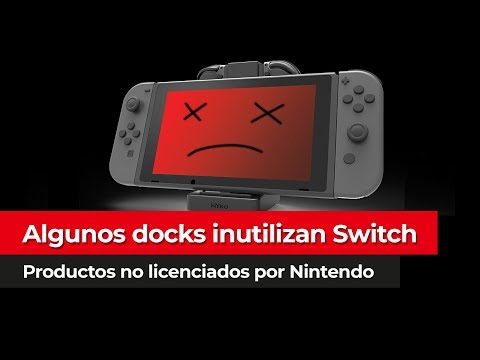 Docks NO OFICIALES pueden INUTILIZAR Nintendo Switch | Detalles actualización 5.0.0