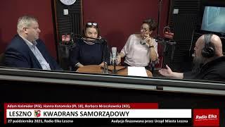Wideo1: Leszno Kwadrans Samorządowy: Adam Kośmider (PiS), Hanna Kotomska (PL 18), Barbara Mroczkowska (KO)