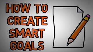 Setting SMART Goals - How To Properly Set a Goal (animated)