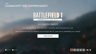 Battlefield 1: How to Download BF1 CTE for Xbox One & PS4