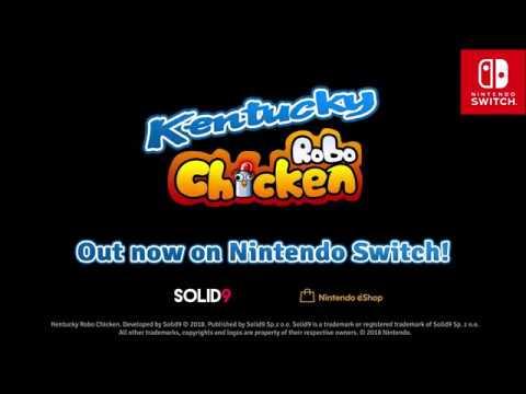Kentucky Robo Chicken - Switch Release Trailer thumbnail