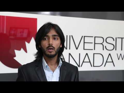 UCW MBA student from Dubai UAE talks about his university, career aspirations and Vancouver