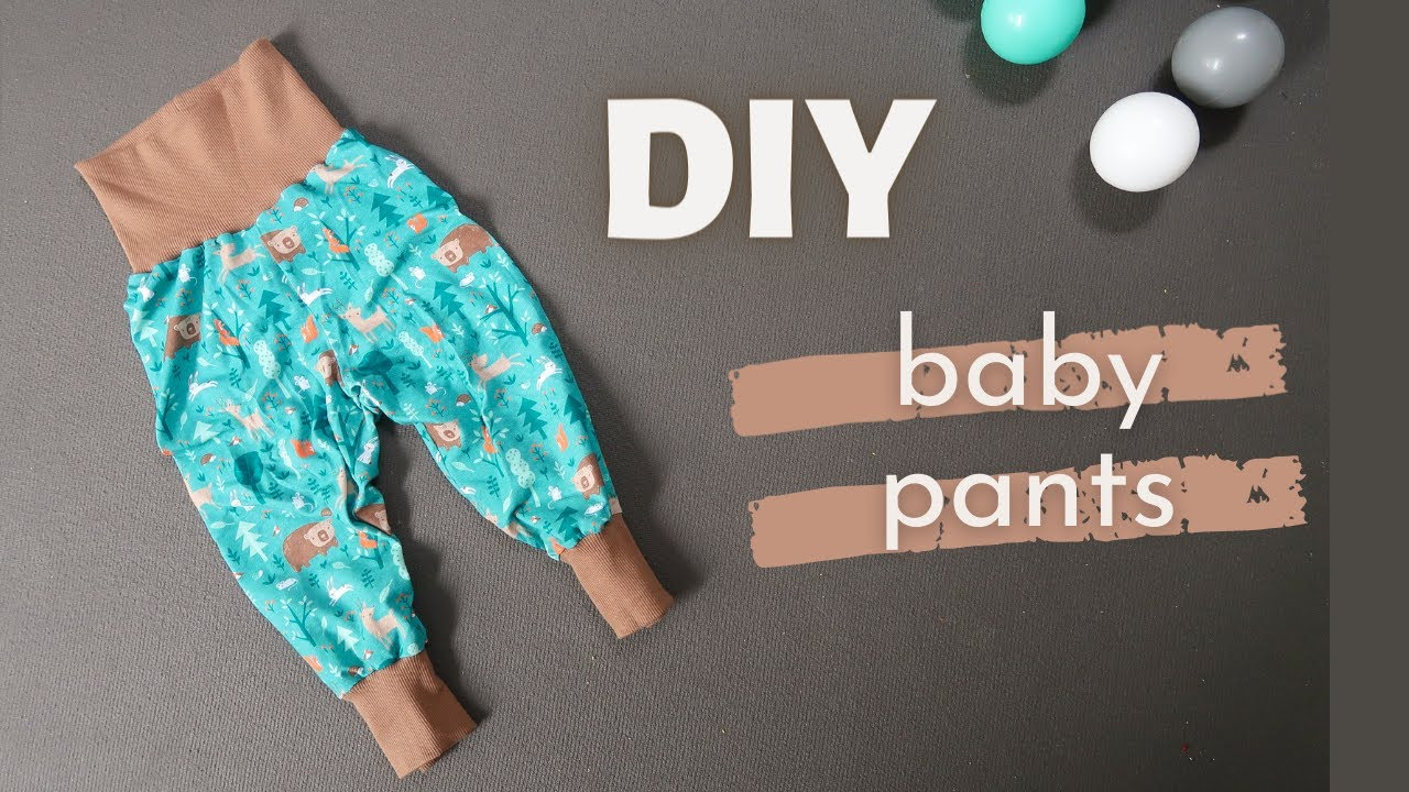 DIY Baby Pants + Free Pattern