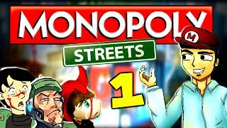 Diabolical Monopoly Returns! (Monopoly Streets Part 1 w/ The Derp Crew)