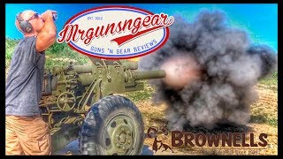 Brownells Social Summit: Driving Tanks & Shooting 105mm Howitzers In Adult Disney Land 🇺🇸