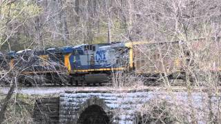 CSX and C&O (Canal, that is) at Lander MD