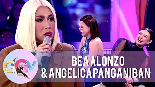Vice Ganda gets annoyed with Bea and Angelica   GGV