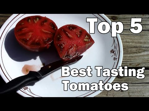 , title : 'My Top 5 Best Tasting Tomatoes.