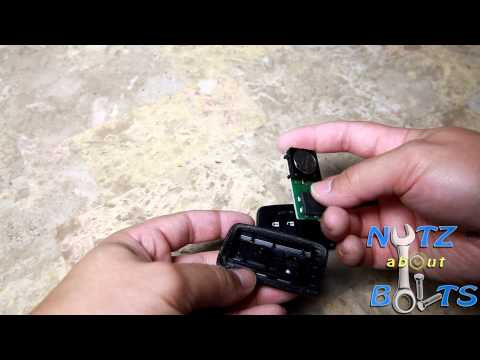 2010-2015 Toyota Prius Key FOB battery replacement