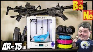 3D Printing AR15 Lower Receiver On Desktop 3D Printer