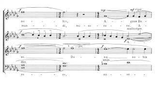 Samuel Barber   (SATB Choir) Agnus Dei (with Score)