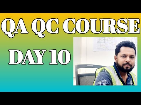 FREE QA QC COURSE WITH CERTIFICATION DAY 10 - YouTube