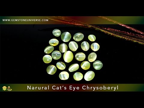 Natural Certified Cats Eye Gemstone In India