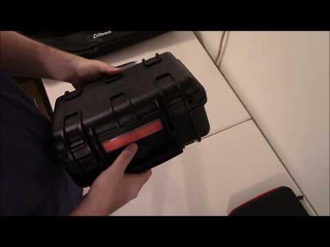 Unboxing: AmazonBasics Hard Camera Case - Small