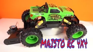 Awesome MAISTO RC ROCK CRAWLER 4X4 overview & test 4k !!!