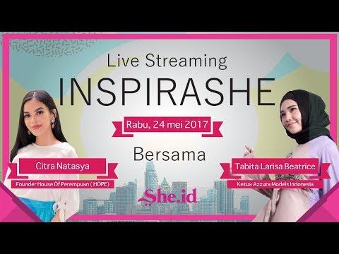 InspiraShe Bersama Citra Natasya dan Tabita Larisa Beatrice.