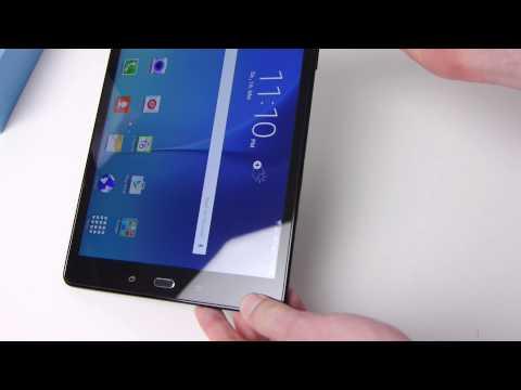 ausgepackt & angefasst: Samsung Galaxy Tab A 9.7 mit LTE (SM-T555)