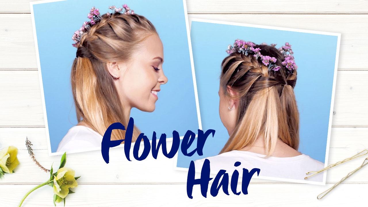 Blumen Im Haar Florale Accessoires Richtig Stylen Nivea