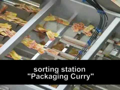 Multi lanes high speed ZE system–Bags of mustard, sauce