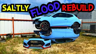 Rebuilding A Flooded Veloster N Part 2 (OOF!!)