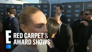 Kate Bosworth Talks Inclusivity In Hollywood At 2018 CCAs | E! Red Carpet & Award Shows