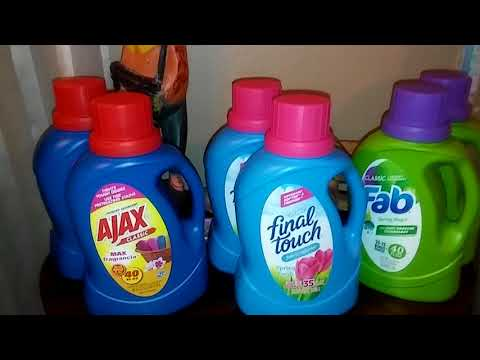 Dollar Tree. Laundry detergent👍but NO WATER!👎