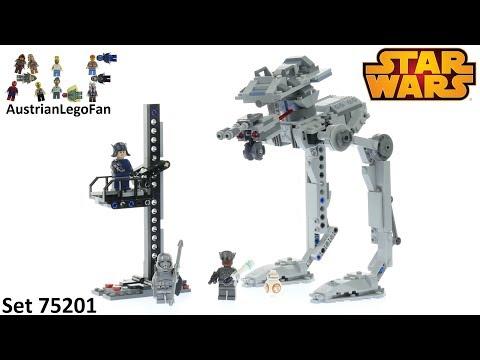 Vidéo LEGO Star Wars 75201 : AT-ST du Premier Ordre