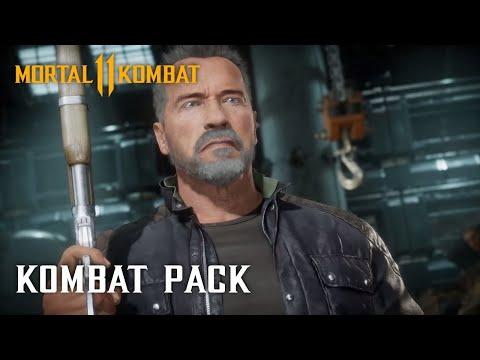 Mortal Kombat 11 Kombat Pack – Official Terminator T-800 Gameplay Trailer