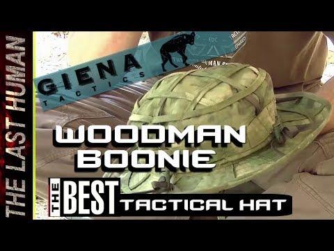 """WOODMAN BOONIE HAT  –GIENA TACTICS–  """""""""""" el mejor sombrero survivalista del mercado"""""""""""""""
